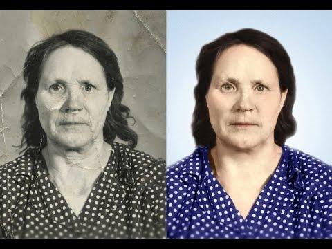 Уроки фотошопа: Как восстановить старую фотографию