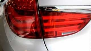 2013 BMW 520D 5 Series Gran Turismo (F07) Exterior Review- In Detail (720p HD)(550i xDrive Gran Turismo was unveiled in Auto China Beijing 2010. Sales of 530d xDrive and 550i xDrive began in June 2010, followed by 535d xDrive and ..., 2012-10-07T06:09:44.000Z)