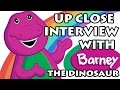 Up Close Interview with Barney the Dinosaur (Animated)