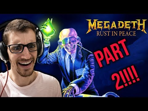 Hip-Hop Head's FULL ALBUM REACTION to RUST IN PEACE by MEGADETH (Part 2)