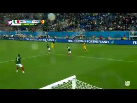 [Mexico vs Cameroon] Ochoa's amazing save [HD]
