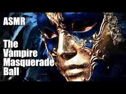 ASMR, The Vampire King's Masquerade Ball! (Romantic evening at the Palace)
