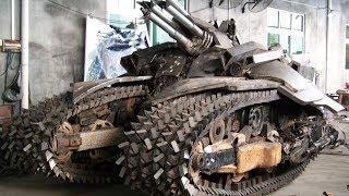 Eng g'alati tanklar va armored transport vositalari insoniyat tarixida eng