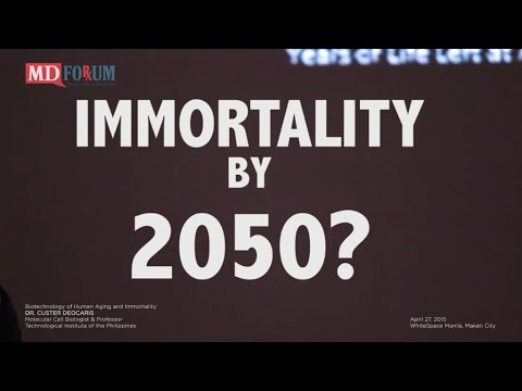 Dr. Custer Deocaris: Is Immortality Possible by 2050?