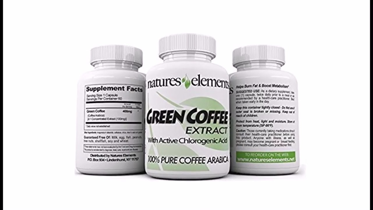 pure elements green coffee