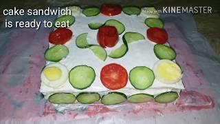 Sandwich cake Easy cooking with as