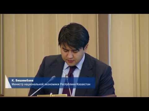 К. Бишимбаев о поэтапном повышении акцизов на алкогольную и табачную продукцию