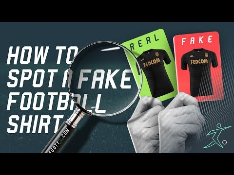 GUIDE: HOW TO SPOT A FAKE FOOTBALL SHIRT!