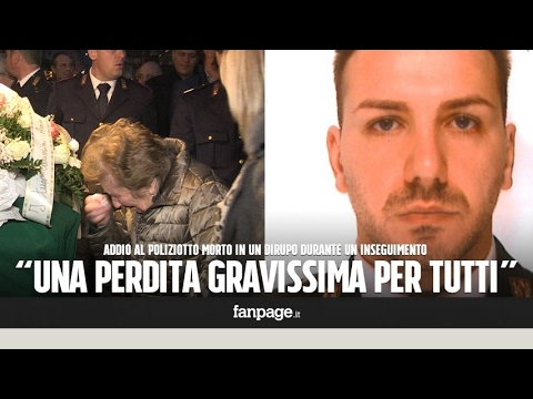 d9fe99b8169fb Addio al poliziotto caduto in un dirupo durante un inseguimento