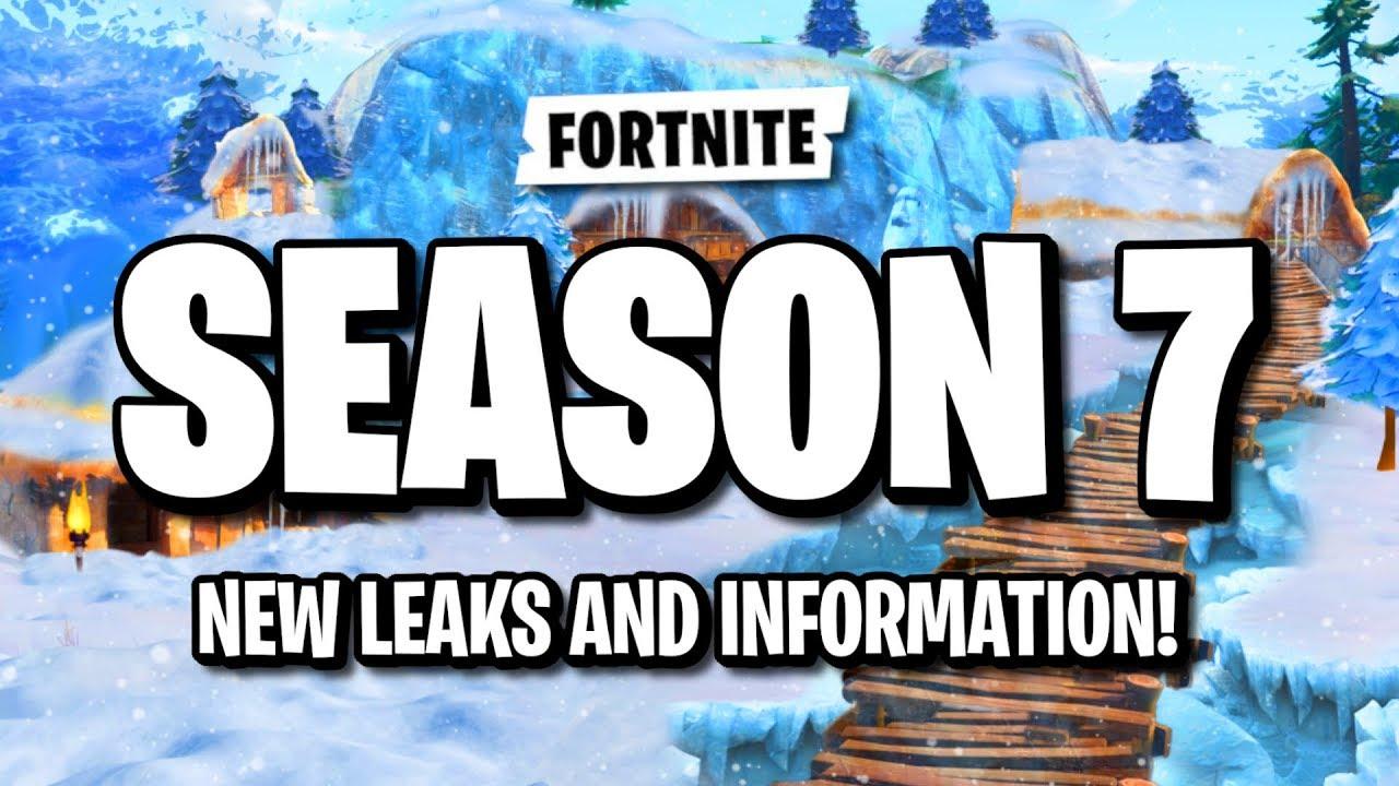 Fortnite Season 7 Leaks Information Fortnite Season 7 Battlepass