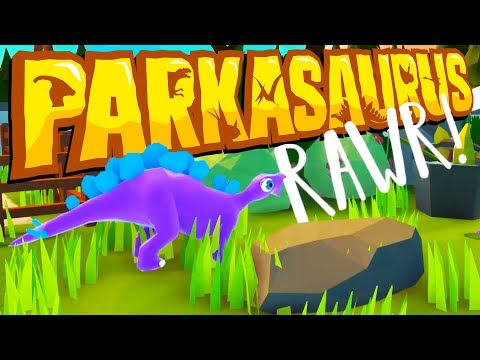 The BEST JURASSIC PARK Ever! - New DINOSAUR GAME! - Parkasaurus Gameplay