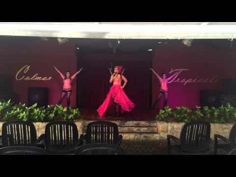 Broadway dance/crossfire dancers in Colmar Tropicale resort Malaysia