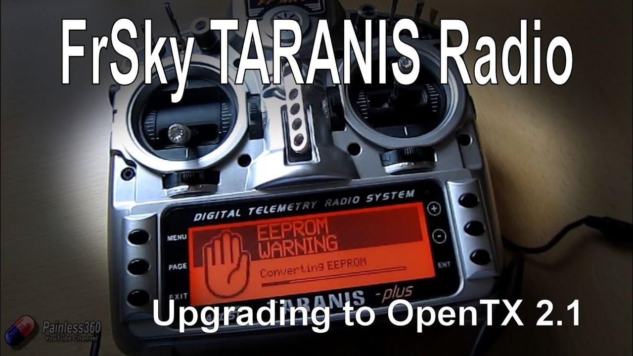 FrSky Taranis Series - Upgrading to OpenTX 2 1