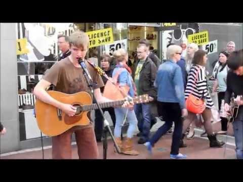 Talent in Grafton Street Dublin (Music, Dance and Juggling)