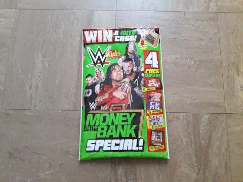 WWE KIDS MAGAZINE #123 **FREE WALLET,GIANT POSTER,STICKERS&JOHN CENA ARMBAND**