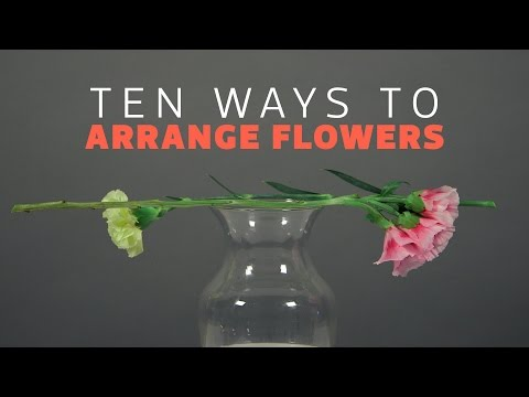 10 Tips for Flower Arrangements