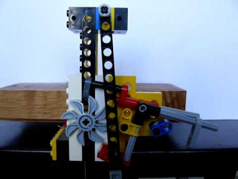 Nicholsons Pseudo Gravity Escapement In Lego Technic By Horolophile