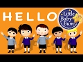 Hello Song | Nursery Rhymes | Original Song by LittleBabyBum!