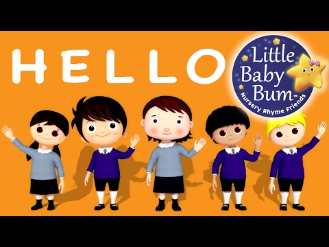 Thumbnail: Hello Song | Nursery Rhymes | Original Song by LittleBabyBum!