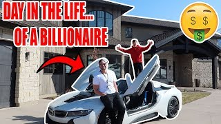 SKIPPING SCHOOL TO HANG OUT WITH A BILLIONAIRE!