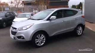 HYUNDAI IX35 PREMIUM CRDI 4WD ALUMINIUM SILVER 2012 смотреть