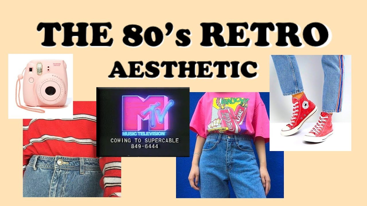 Aesthetic Vintage Clothing: 80's Retro Aesthetic // Find Your Aesthetic #1 🌈