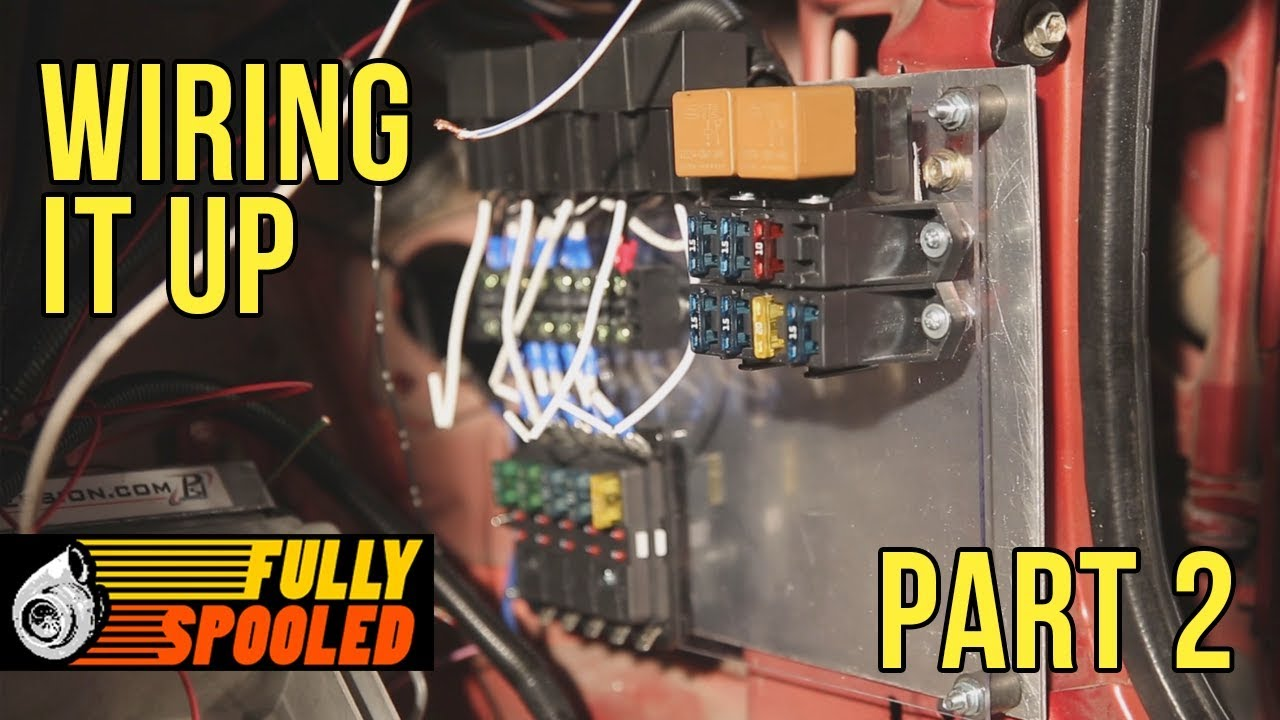Race Car Fuse Box Wiring Diagram Online Not Working Lexus Sc400 Drift Build Ep 41 Relay Panel And More Vintage