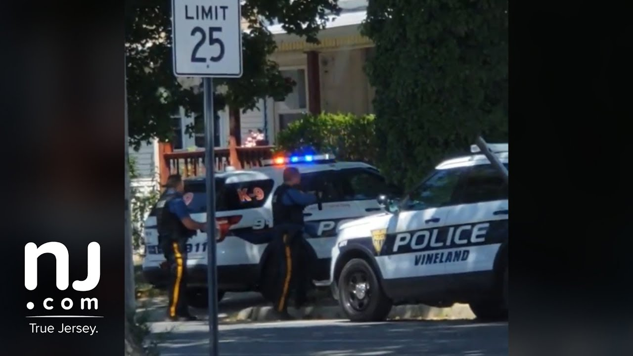 Raw footage of police involved shooting in Vineland