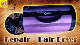 How To Repair Hair Dryer   Sửa máy sấy tóc siêu khỏe