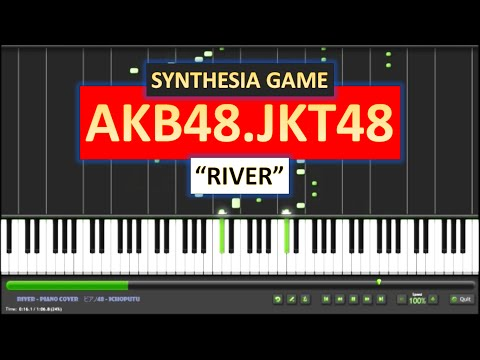 JKT48 - RIVER (Piano Cover) (Short Ver.)