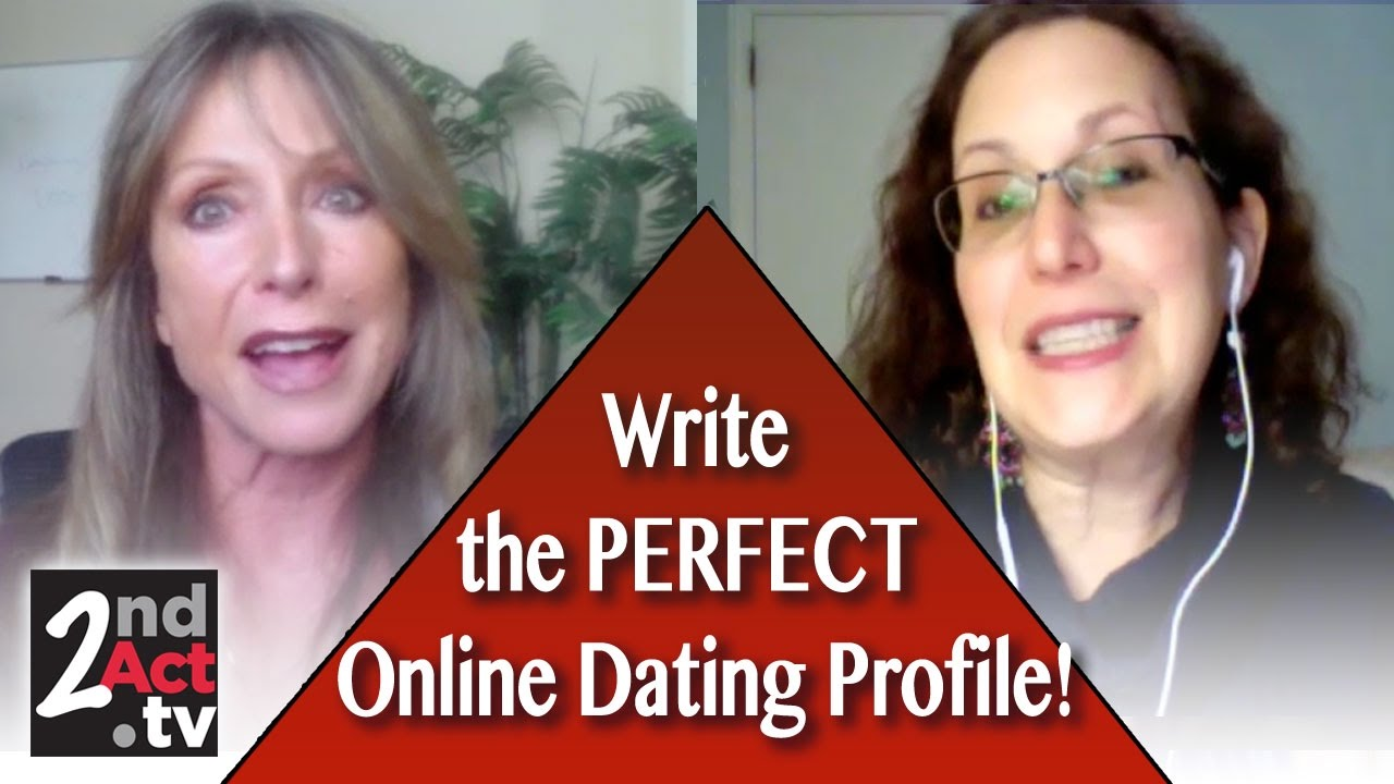 Girls writing the perfect online dating profile