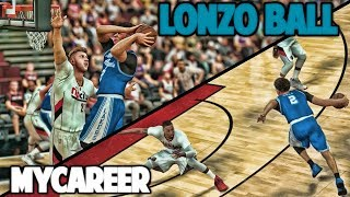 LONZO MOST DISRESPECTFUL PLAY OF HIS CAREER - NBA 2K17 LONZO BALL MyCareer