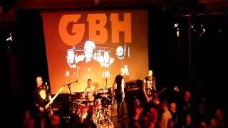 GBH, No Survivors, Live @ New Continental, Preston, 22nd March 2012
