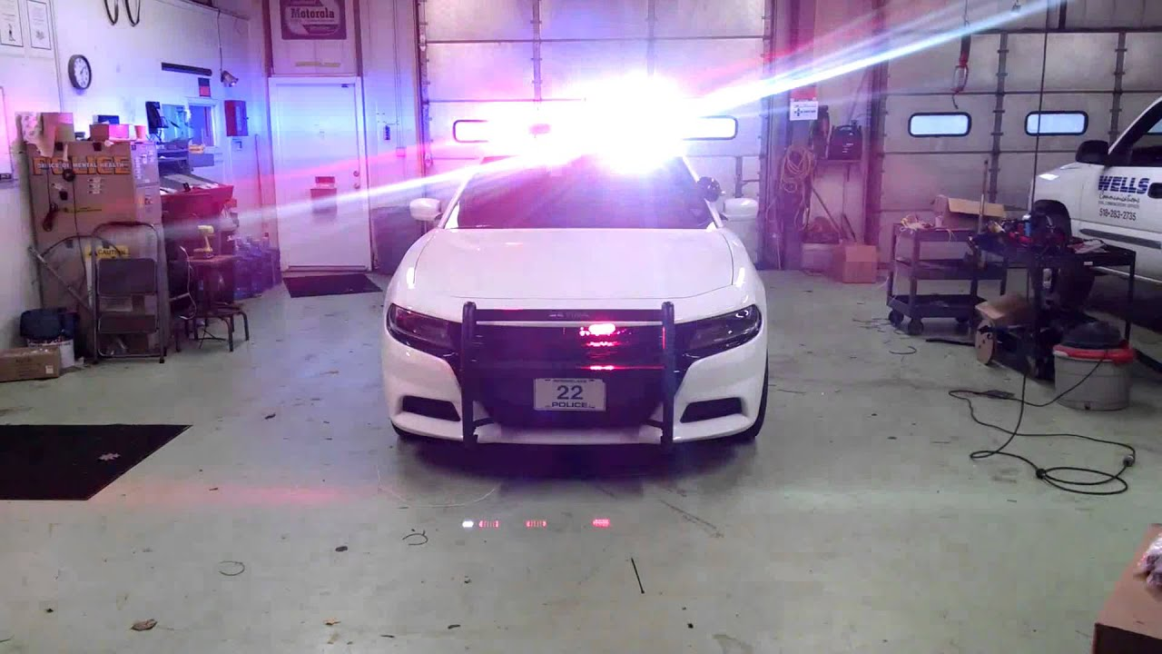 2015 Dodge Charger Police Package Upgraded Factory Led