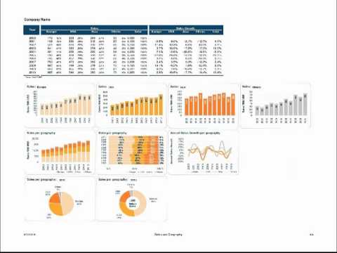 Design Chart Templates For Microsoft Excel Youtube
