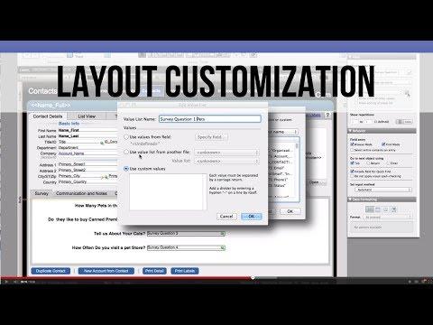FileMaker FM Starting Point: Layout Customization | FileMaker Training
