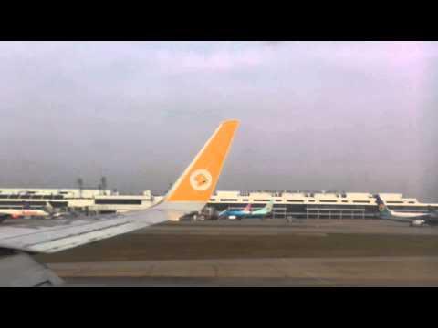 Nok Air DD8303 Landing at Bangkok Airport - นกแอร์ลงดอนเมืองอย่างนุ่ม