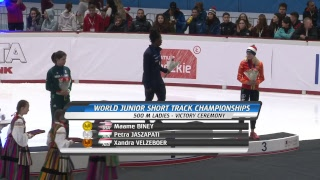 World Junior Short Track Speed Skating Championships Day 2