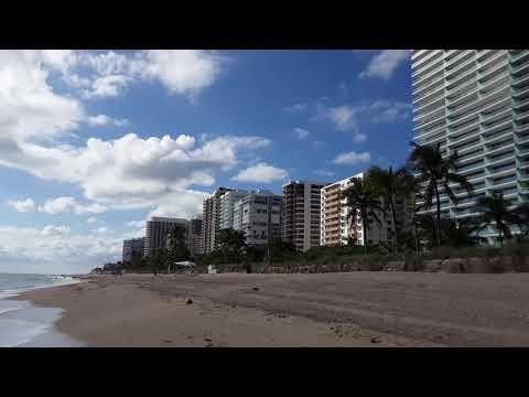 Miami, Bal Harbour Beach, Florida. November 2017