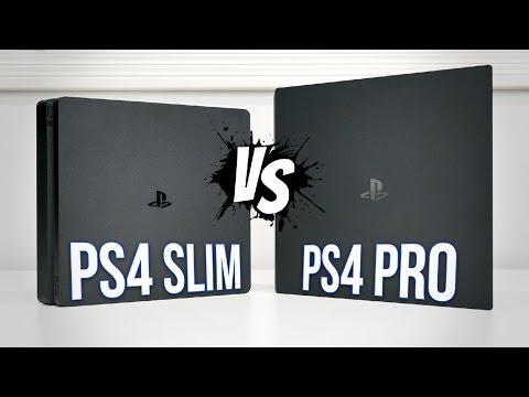 PS4 PRO vs PS4 Slim | Comparison