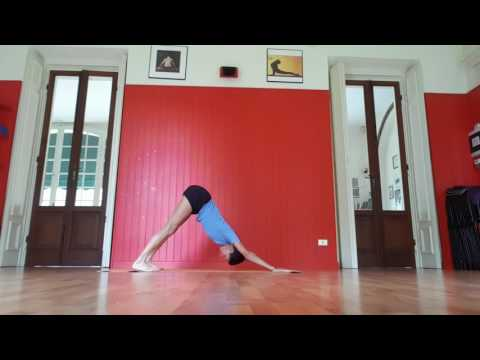 Dynamic Core work  the Iyengar Yoga way