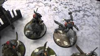 Warhammer 40k Battle Report 7th Edition Dark Eldar Vs Space Wolves