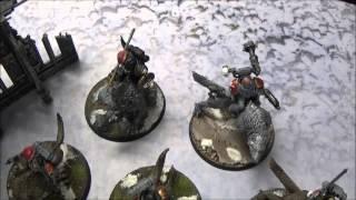 Warhammer 40k Battle Report 7th Edition Dark Eldar Vs Space Wolves