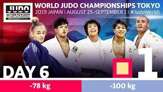 World Judo Championships 2019: Day 6 - Elimination