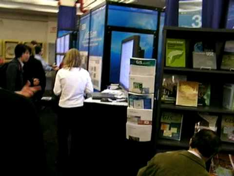 ESRI Exhibit at the 2010 Annual Meeting of the Association of American Geographers