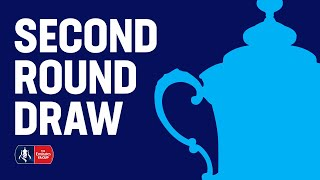 The Emirates FA Cup Second Round Draw LIVE | Emirates FA Cup 19/20