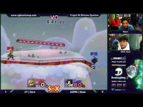 Xanadu 5/20/14 - Zero (Pit/Fox) vs. Nazo (Sonic)