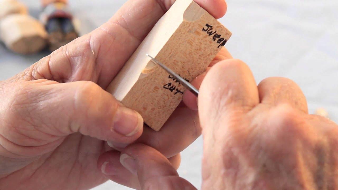 Wood carving basic cuts to master funnydog tv