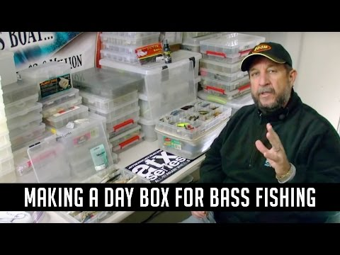 How to Organize Tackle and Create a Day Box