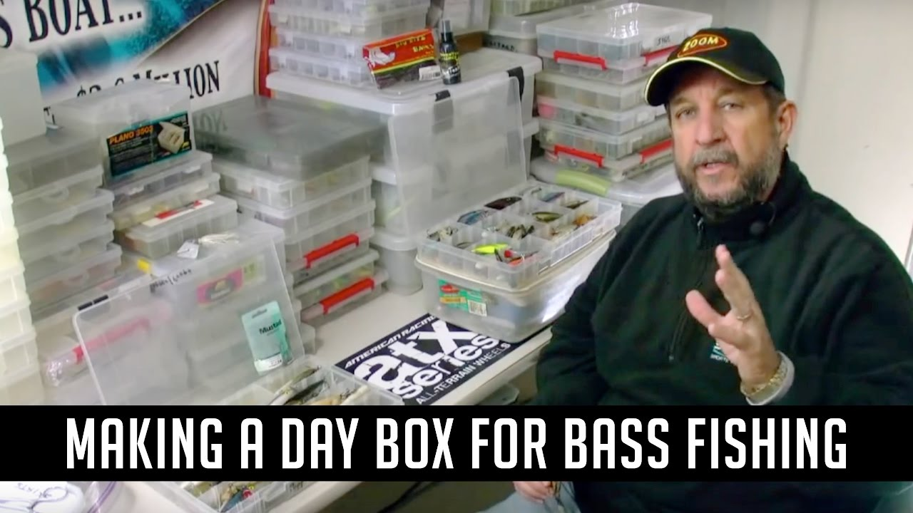 How To Organize Tackle And Create A Day Box Youtube